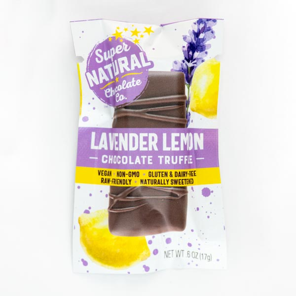 Lavender Lemon Vegan Raw Truffle