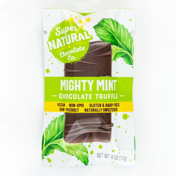 Mighty Mint Vegan Raw Chocolate Truffle