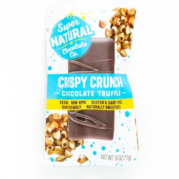 Crispy Crunch Vegan Raw Chocolate Truffle