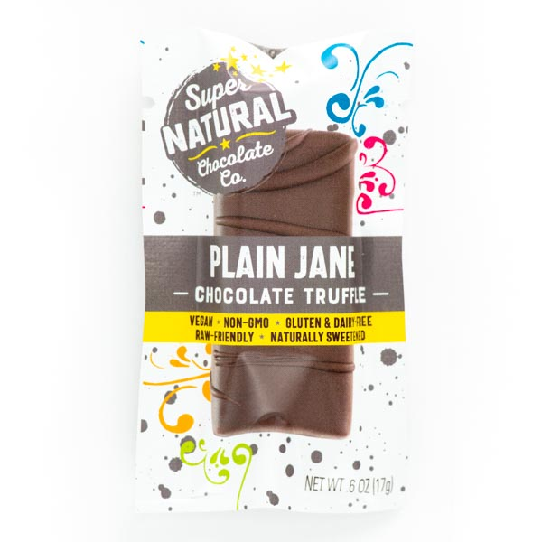 Plain Jane Vegan Raw Chocolate Truffle