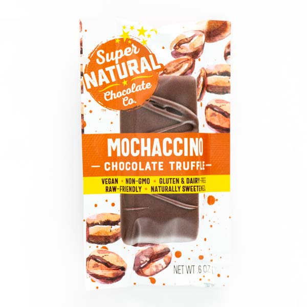 Mochaccino Vegan Raw Chocolate Truffle