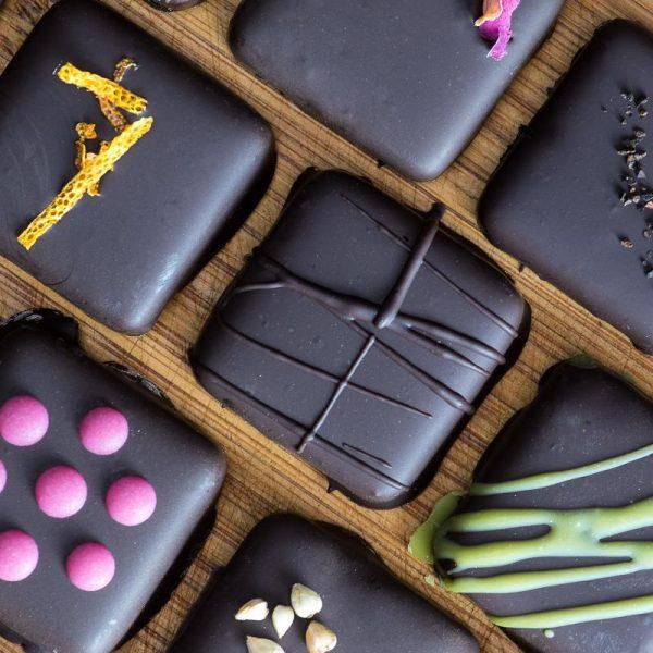 Raw Chocolate Truffle Box - Super Natural Chocolate Co